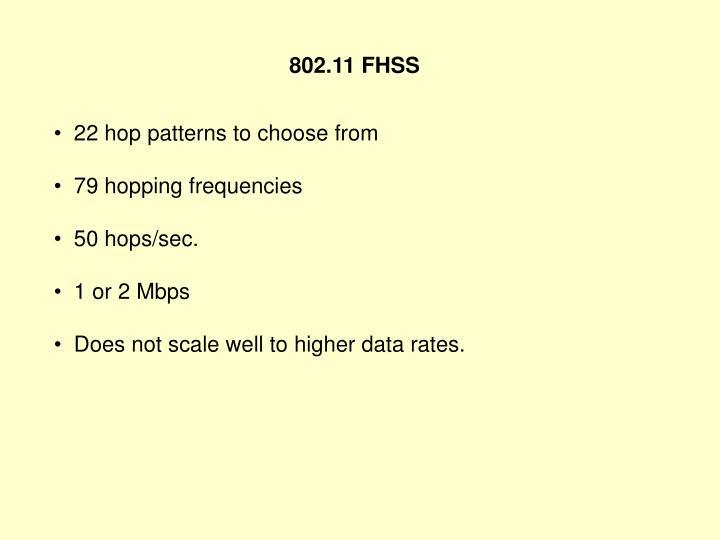 802.11 FHSS
