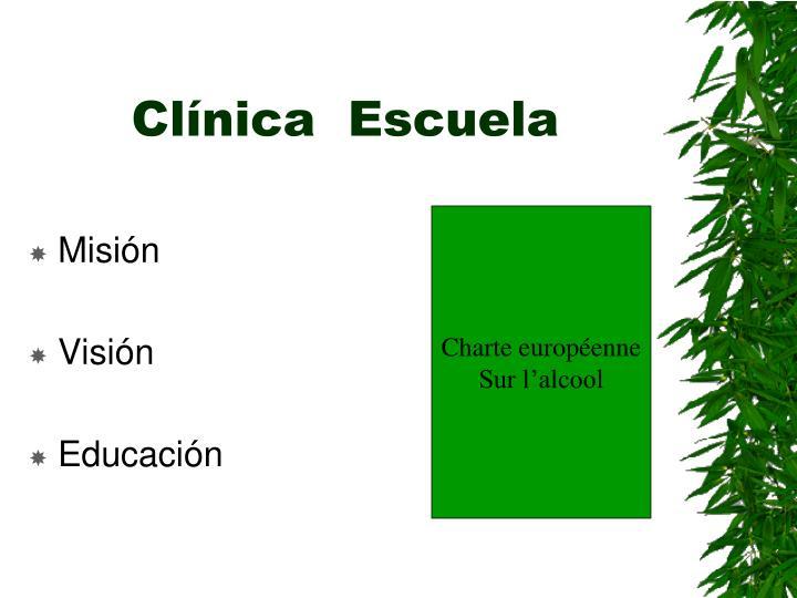 Clínica  Escuela