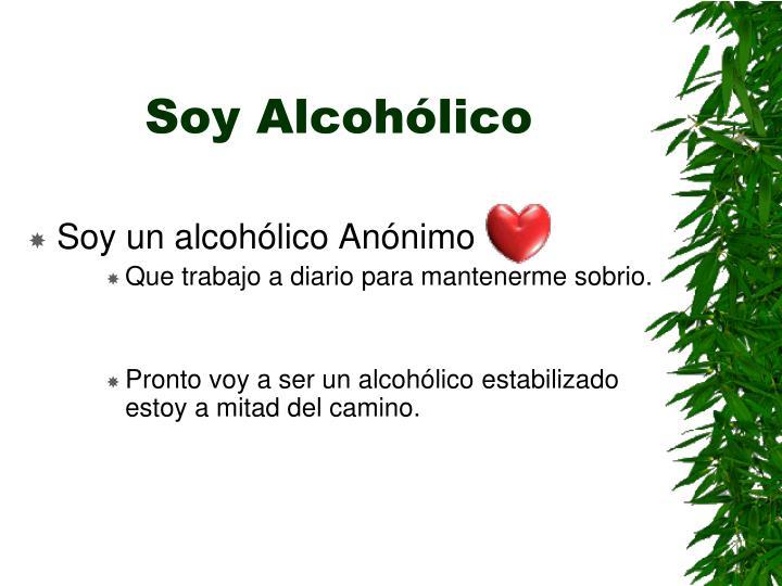 Soy Alcohólico