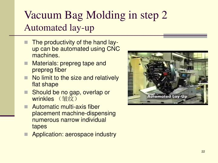 Vacuum Bag Molding in step 2