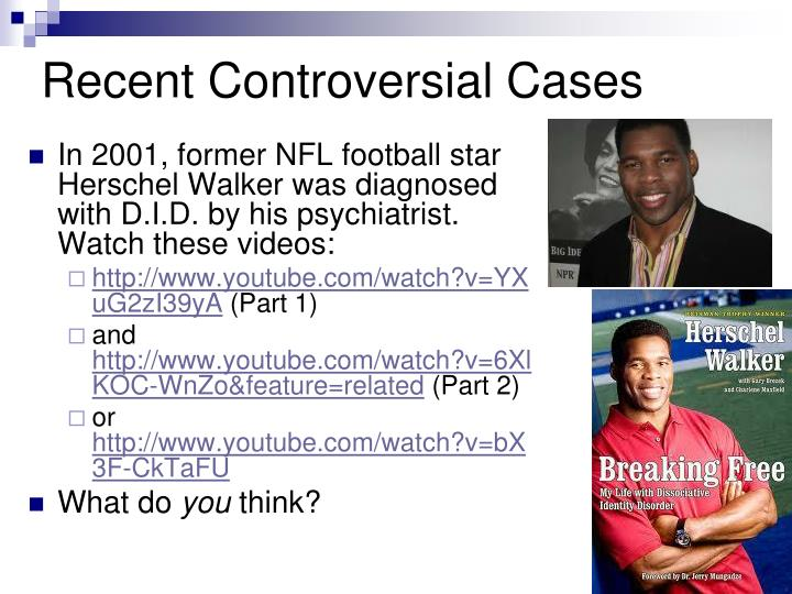 Recent Controversial Cases