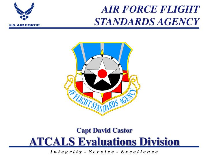 Air force flight standards agency