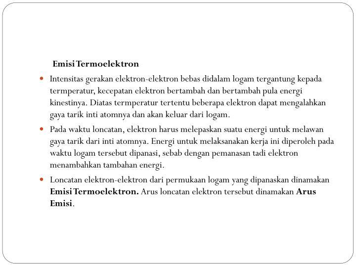 Emisi