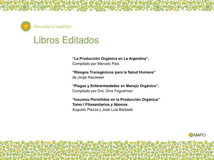 Libros Editados