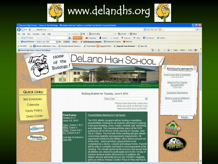 www.delandhs.org