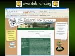 www delandhs org