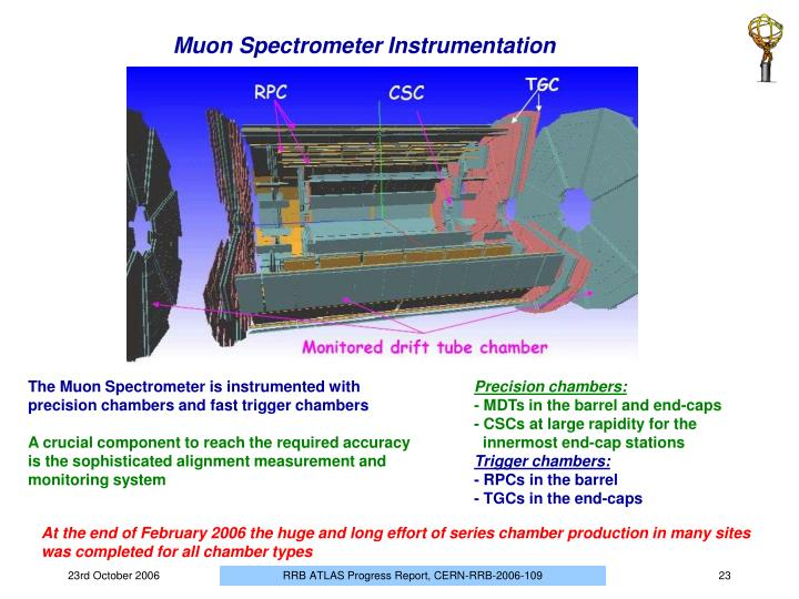 Muon Spectrometer Instrumentation