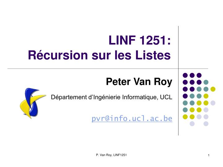 LINF 1251: