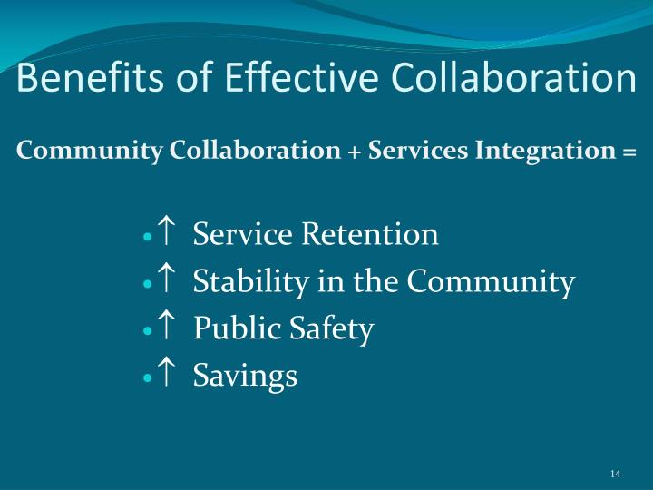 Benefits of Effective Collaboration
