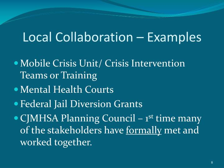 Local Collaboration – Examples