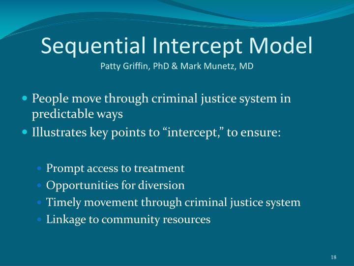 Sequential Intercept Model