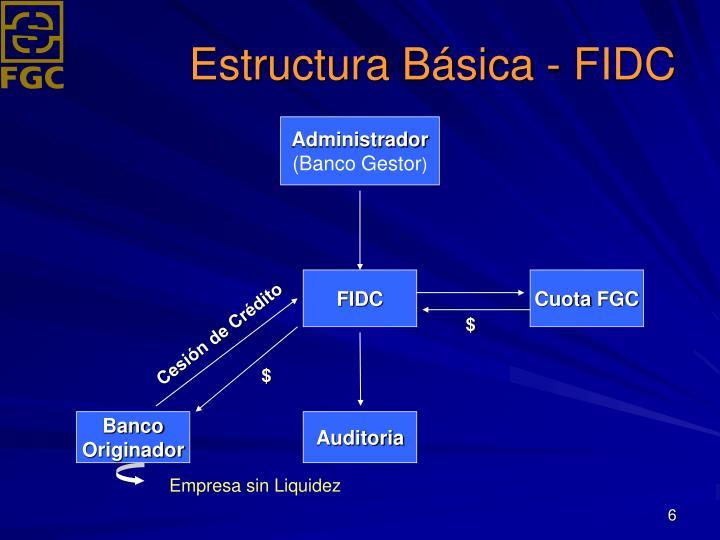 Estructura Básica - FIDC