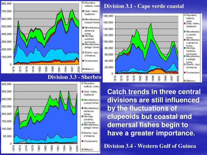 Division 3.1 - Cape verde coastal