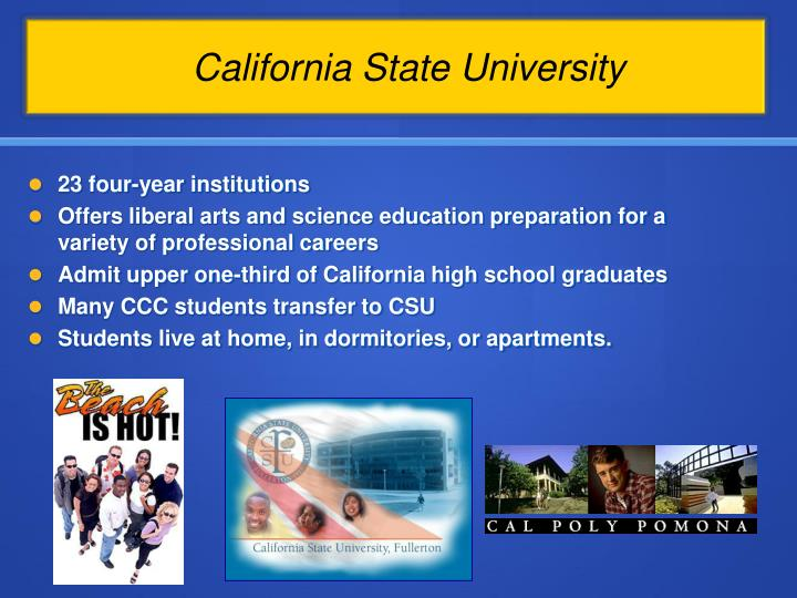 23 four-year institutions