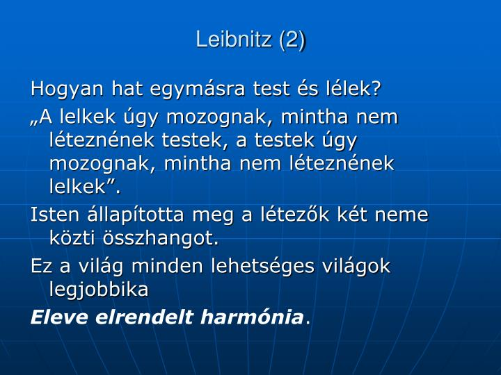 Leibnitz (2)