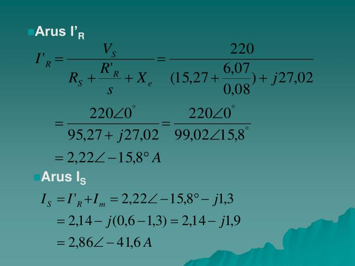 Arus I'