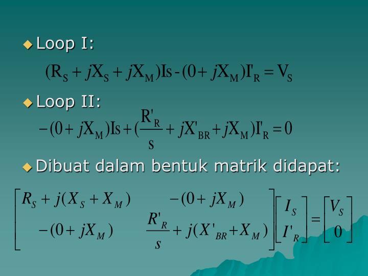 Loop I: