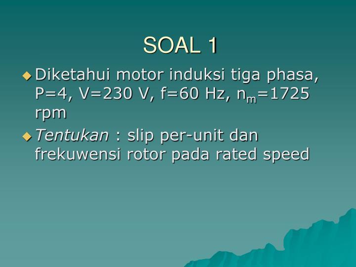 SOAL 1