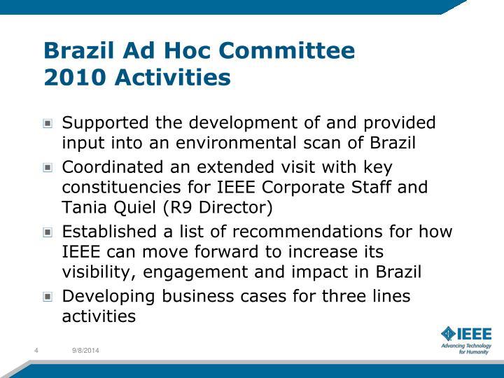 Brazil Ad Hoc Committee