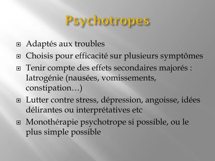 Psychotropes