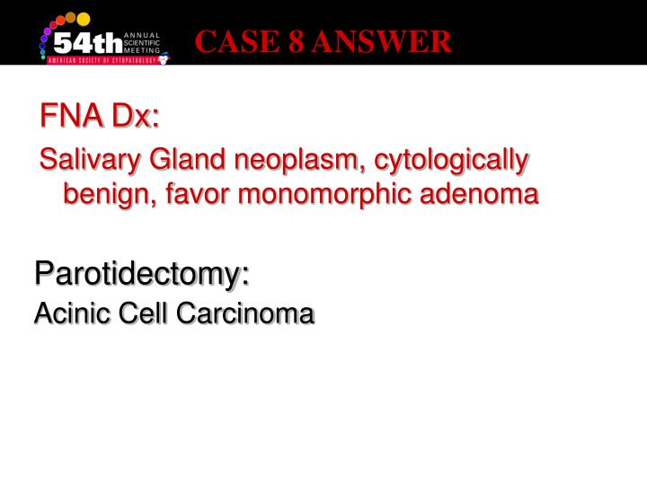 CASE 8 ANSWER