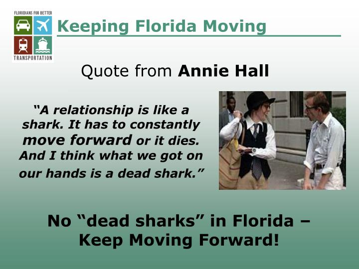 Keeping Florida Moving