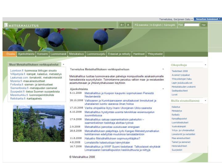Metsähallitus 2008