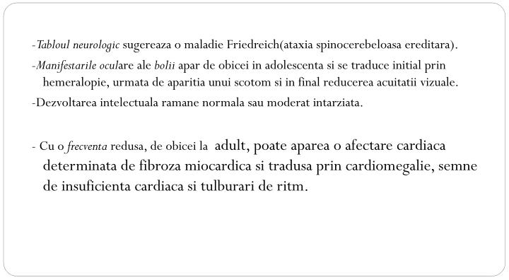 -Tabloul neurologic