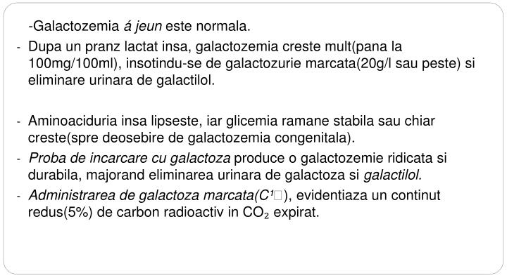 -Galactozemia