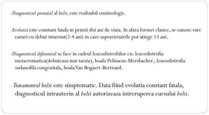 -Diagnosticul prenatal