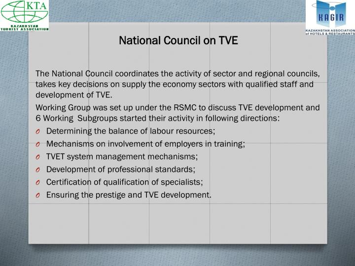 National council on tve
