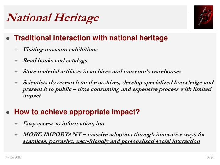 National heritage1