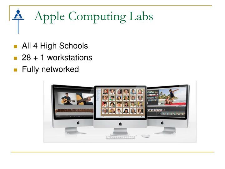 Apple Computing Labs