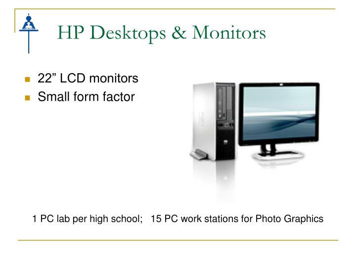 HP Desktops & Monitors