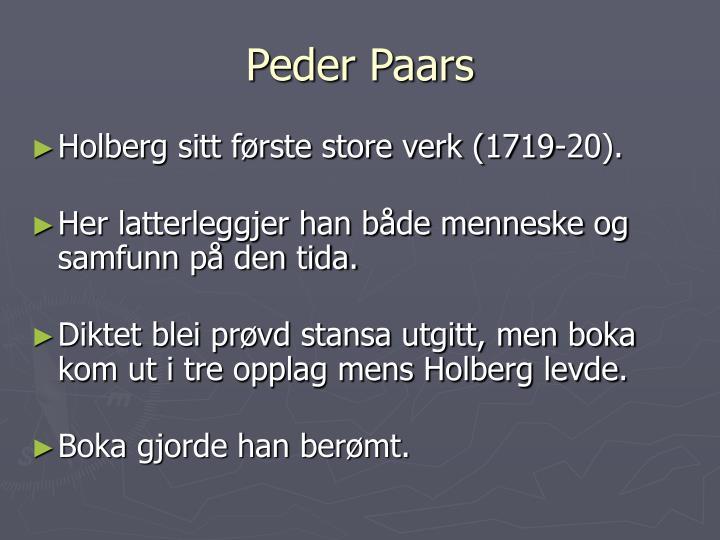 Peder Paars