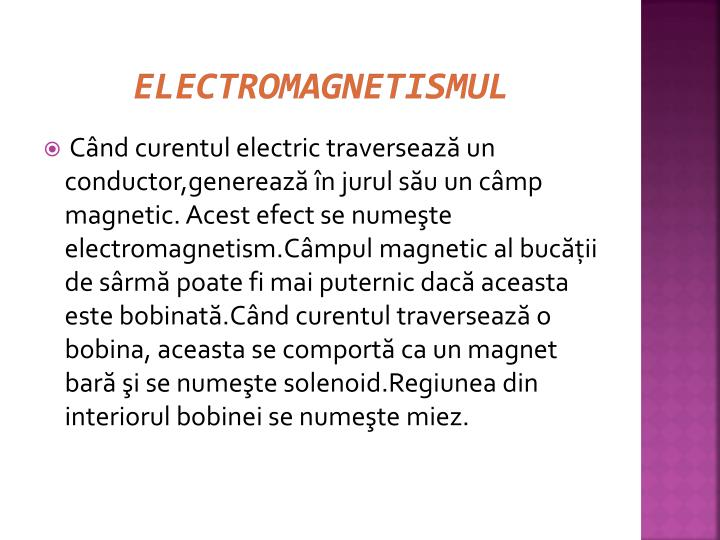 Electromagnetismul