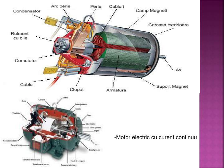 -Motor electric cu curent continuu