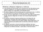 recomendaciones 2