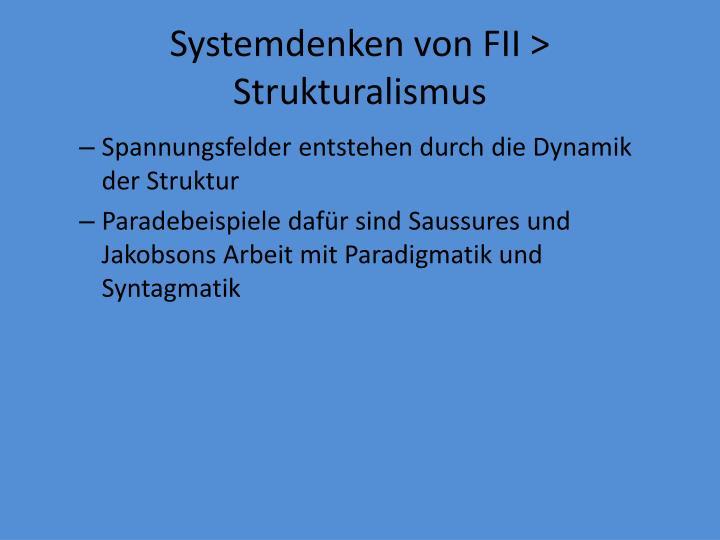 Systemdenken von FII > Strukturalismus