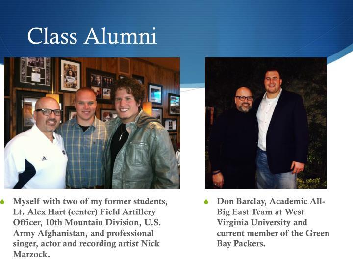 Class Alumni