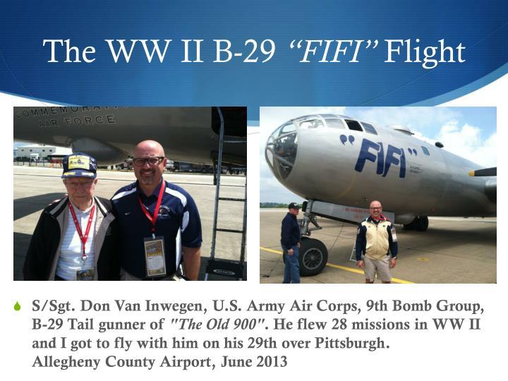 The WW II B-29