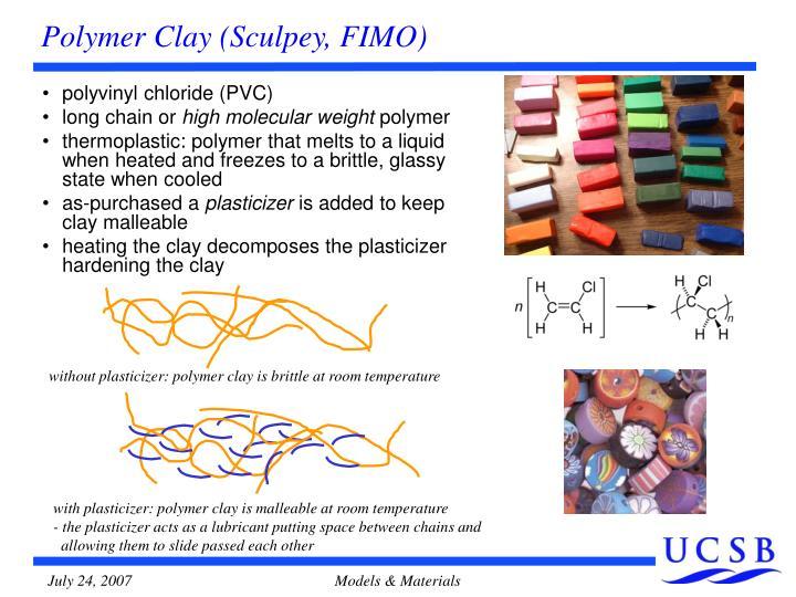 Polymer Clay (Sculpey, FIMO)