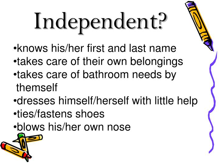 Independent?