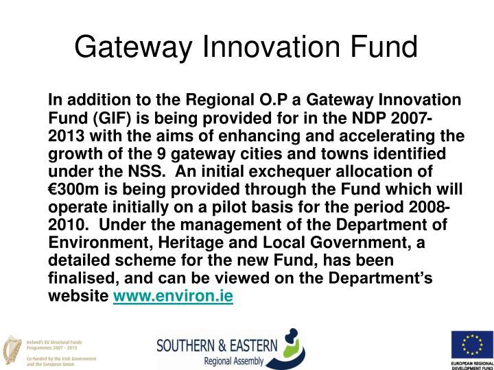 Gateway Innovation Fund