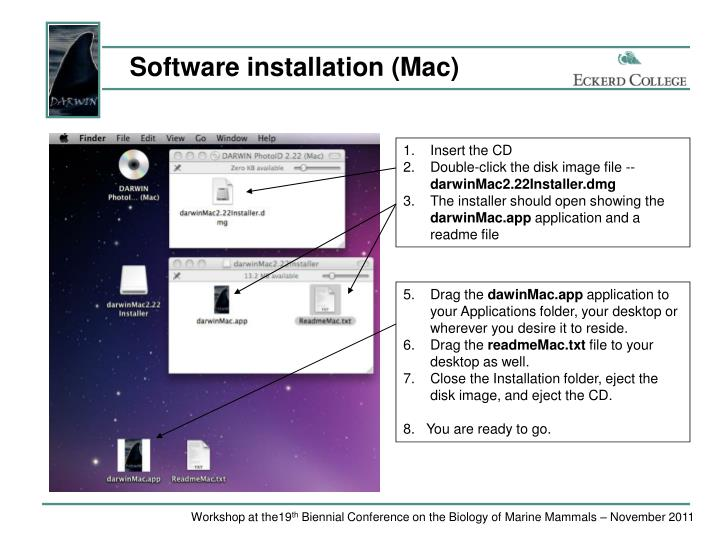 Software installation (Mac)