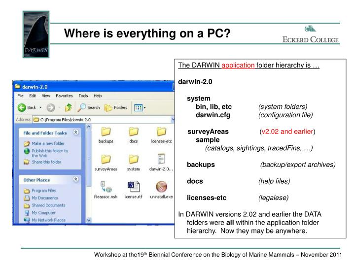 Where is everything on a PC?
