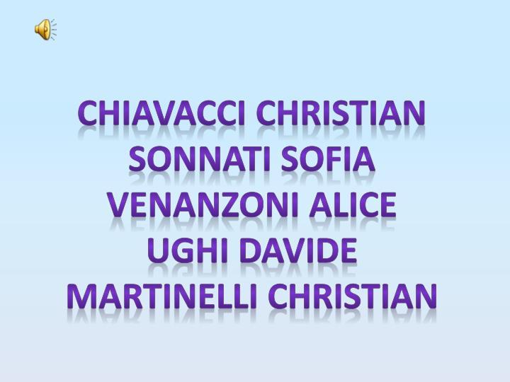 Chiavacci christian