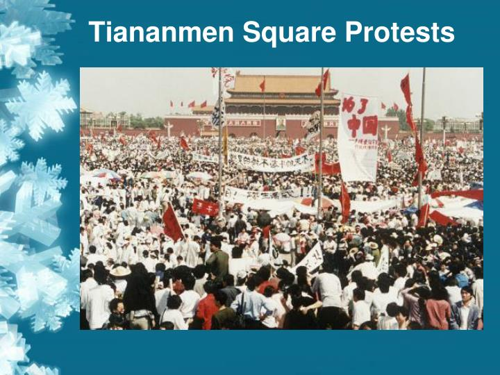 an analysis of unity of purpose in the tiananmen square protest Reactions to the tiananmen square the life of tiananmen square a few years stood quietly in istanbul's taksim square as a protest against the.