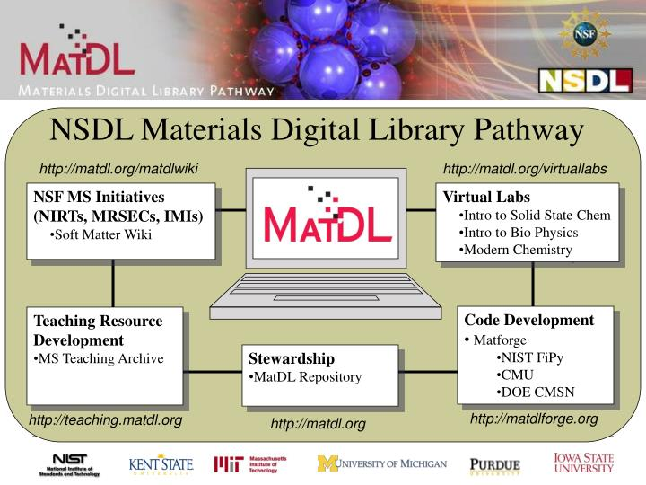 NSDL Materials Digital Library Pathway