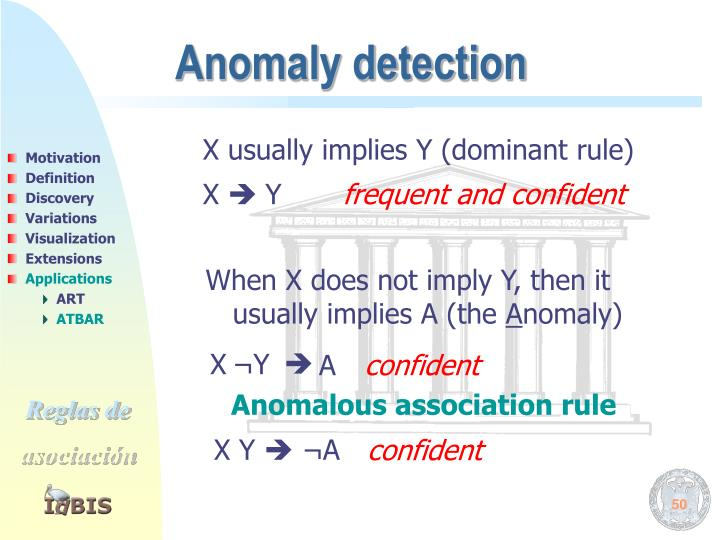 X usually implies Y (dominant rule)